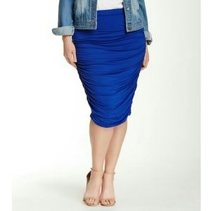 Vince Camuto Ruched Skirt